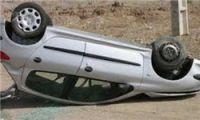 کشته شدن پدر و دختر 4 ساله در اثر واژگونی پژو در حوالی روستای «نقاب»