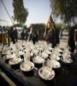 برپایی اولین ایستگاه صلواتی سال 94 به مناسبت اربعین حسینی در شهرستان میانه /گزارش تصویری